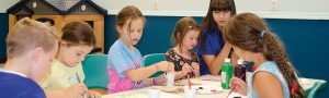 Boerne Texas Daycare Kids Painting